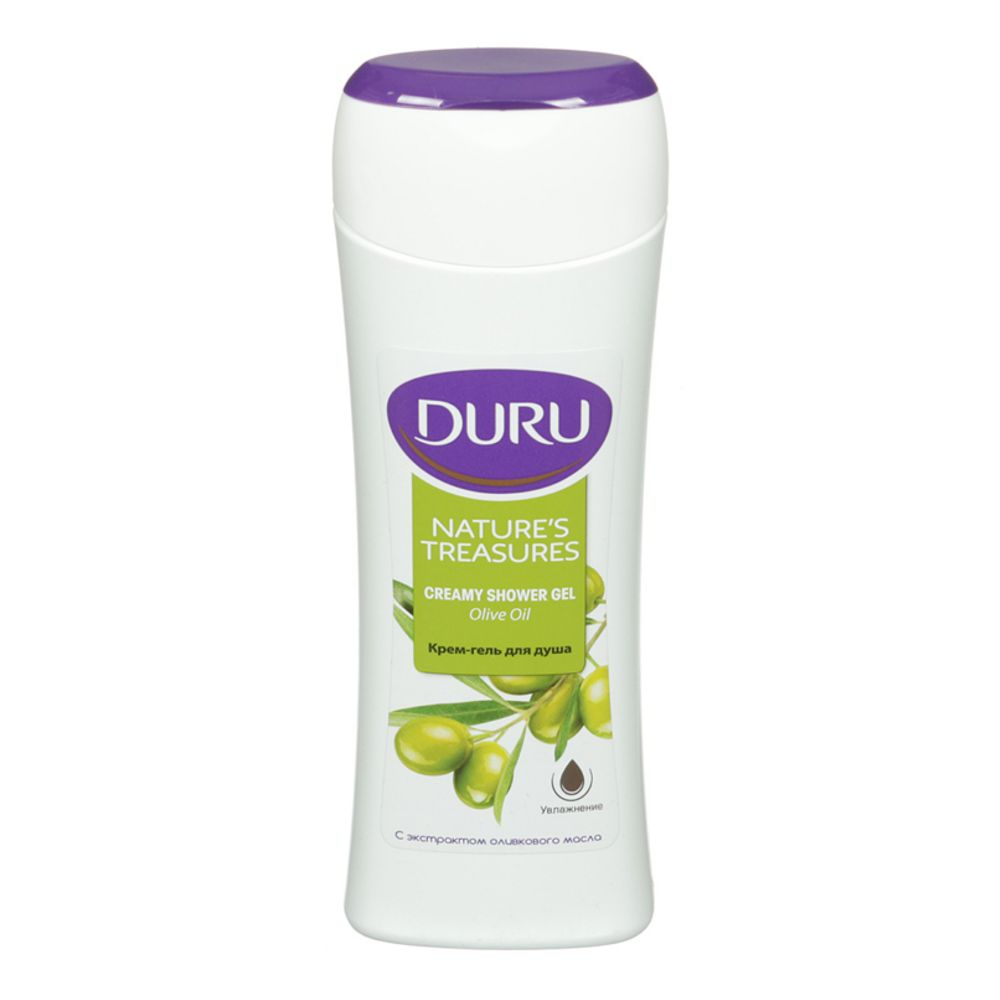 Duru NATURE'S TREASURES Гель для душа Олива 250мл 215р